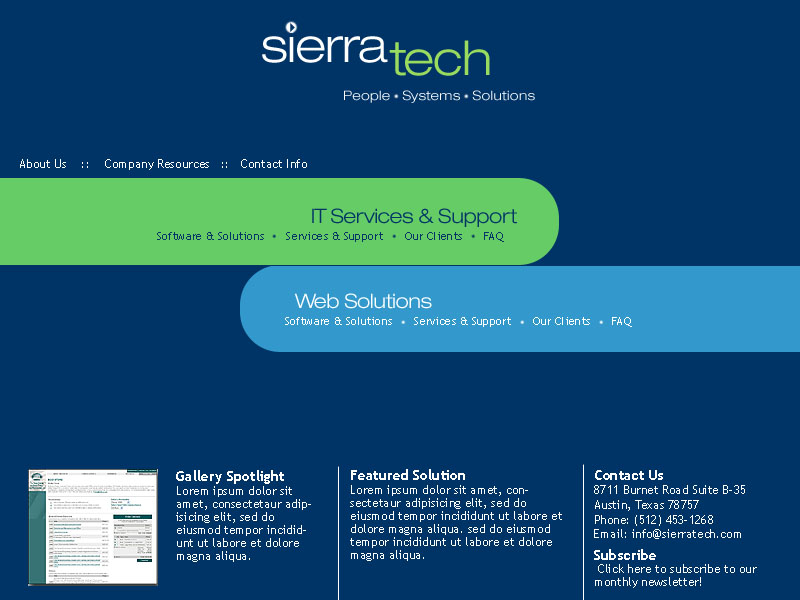 SieraTech <small>Website</small>